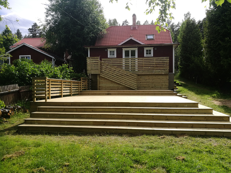 Renovera veranda - HDA Bygg